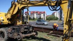 Rozpoczął się remont torów tramwajowych