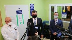 Pierwsze szczepienia na COVID-19 na Warmii i Mazurach