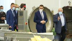 Premier Mateusz Morawiecki z wizytą na Warmii i Mazurach