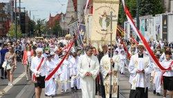 Procesja Bożego Ciała w Olsztynie