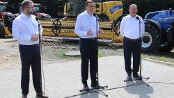 Premier M. Morawiecki z wizytą w Brzydowie (12.08.2021)