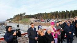 Jerzy Wilk patronem Mostu Południowego na Mierzei Wiślanej (25.10.2021)