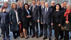 Koalicja Obywatelska poparła Piotra Grzymowicza w II turze wyborów prezydenckich
