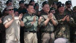 Wizyta prezydenta w Orzyszu