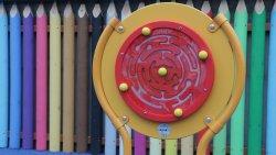 Plac zabaw na ścieżce edukacyjno-ekologiczej