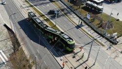 Wykolejony tramwaj \