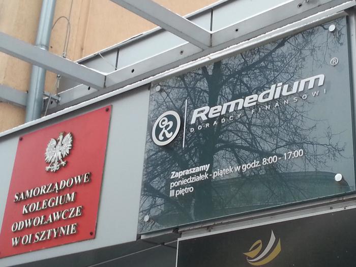 siedziba spółki Remedium
