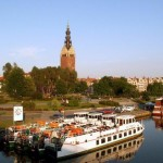 Bobry zagrażają żegludze na rzece Elbląg