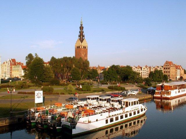 rzeka Elbląg, fot. UM Elbląg