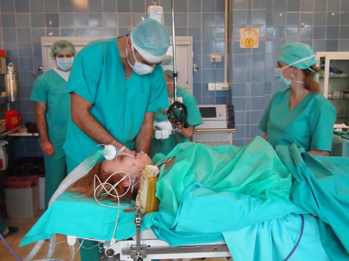 operacja, jajnik, szpital, zdrowie