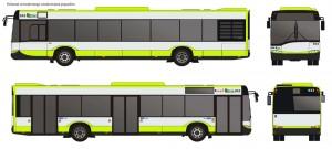 oznakowanie nowych autobusów MPK w Olsztynie, fot. mpk