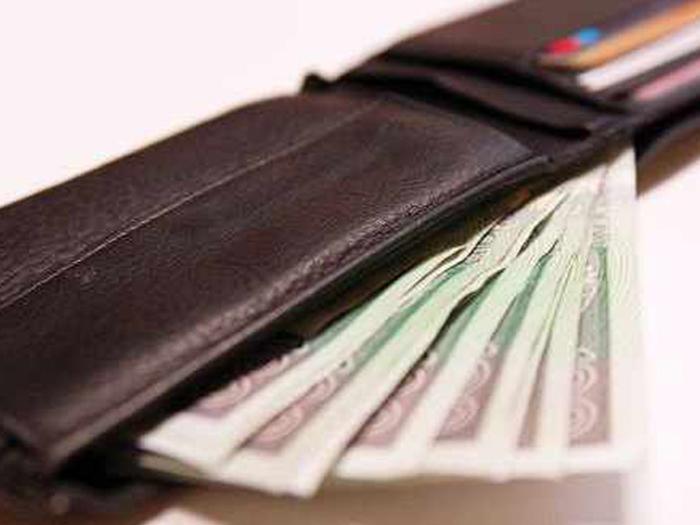 portfel, pieniądze, banknoty