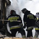 Pożar domu w powiecie ełckim