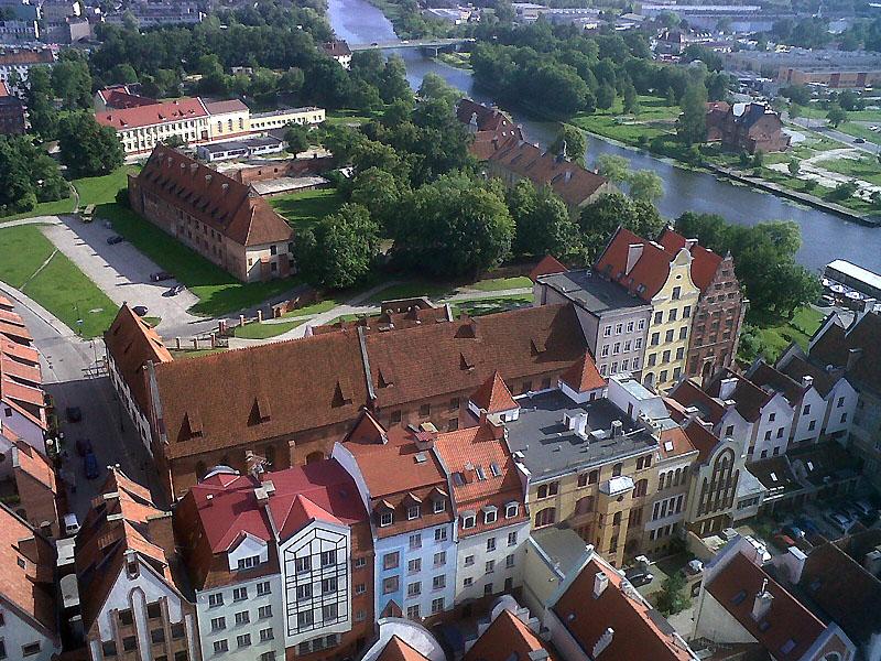 Panorama Elbląga . Fot. UM Elbląg