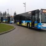 Utrudnienia w komunikacji miejskiej w Ełku. Wstrzymane zostały kursy do miejscowości Barany
