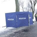 Śmiertelny wypadek pomiędzy Olsztynem a Barczewem