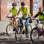 Kobiety świętowały na rowerach