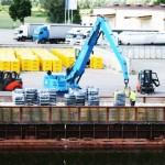 W tym roku port w Elblągu przeładował 22 tys. ton towarów
