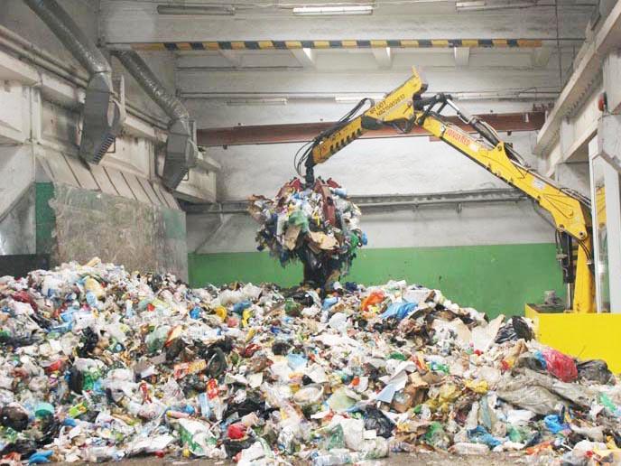odpady w OZK, fot. Adam Socha
