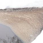 Szlam z kurników w jeziorze