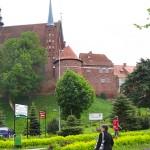Frombork zmierzył się z historią
