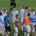 Biało-niebiescy zakończyli przygodę z Pucharem Polski