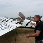 Mistrz lotnictwa akrobatycznego otarł się o śmierć