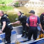 Strażacy wyłowili zwłoki wędkarza