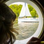 Żeglarze wciąż na jeziorach, a mazurscy ratownicy podsumowują sezon