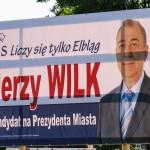 Pozytywna kampania kandydata PiS