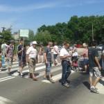 Mieszkańcy Gąsek wychodzili remont drogi