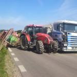Wypadek na trasie Kętrzyn-Bartoszyce