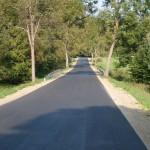 Mieszkańcy gminy Łukta od dziś mogą korzystać z wyremontowanej drogi w Komorowie