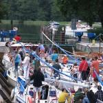 W Rucianem Nidzie powstanie nowa śluza. Guzianka II ułatwi ruch żeglugowy na szlaku Wielkich Jezior Mazurskich