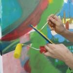 Julia Deptuła laureatką głównej nagrody Olsztyn Street Art Garden