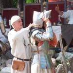 Rycerze maszerują do Grunwaldu