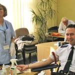 W OIsztynie trwa policyjna akcja poboru krwi