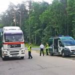 Kontrola pojazdów przewożących niebezpieczne ładunki