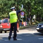 W Olsztynie rywalizują najlepsi policjanci drogówki z regionu. Zwycięzcy pojadą na ogólnopolski finał