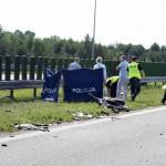 Pod Nidzicą zginął rowerzysta