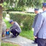 Policjanci uczcili pamięć tragicznie zmarłego kolegi