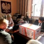 Przekazano podpisy ws. referendum w Olsztynie