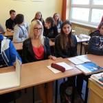 Młodzi Rosjanie przyjechali do Olsztyna uczyć się polskiego