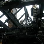 Podpalacz z Samborowa usłyszał zarzuty