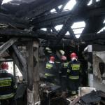 Pożar zniszczył kamienicę na olsztyńskim Zatorzu
