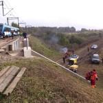 Tragiczny wypadek pod Korszami. Fot.Krzysztof Tamiła - OSP Korsze
