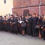 Studenci wydziału medycznego ślubowali na zamku