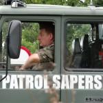 W Elblągu patrol saperski ciągle ma zajęcie