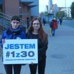 Olsztyńscy aktywiści Greenpeace solidarni z aresztowanymi w Rosji