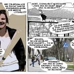 Młodzież stworzyła komiks ostrzegający przed narkotykami i alkoholem